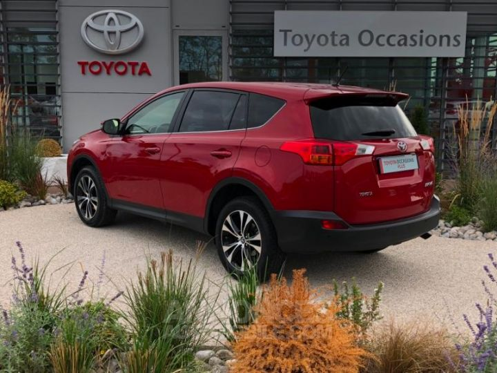 Toyota RAV4 124 D-4D Life 2WD ROUGE Occasion - 4