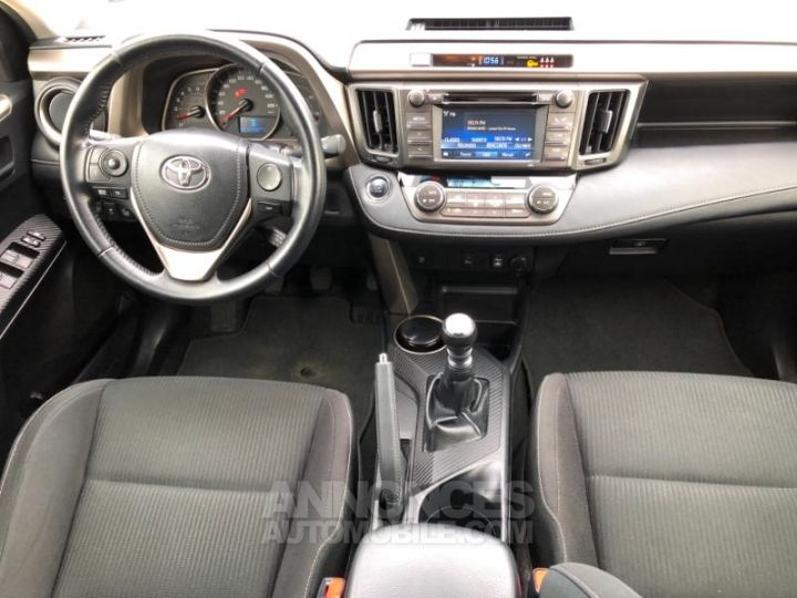 Toyota RAV4 124 D-4D Life 2WD ROUGE Occasion - 8
