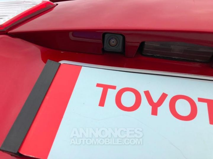 Toyota RAV4 124 D-4D Life 2WD ROUGE Occasion - 15