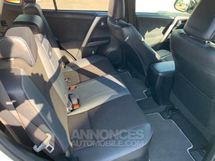 Toyota RAV4 197 Hybride Design 2WD CVT BLANC NACRE Occasion - 6