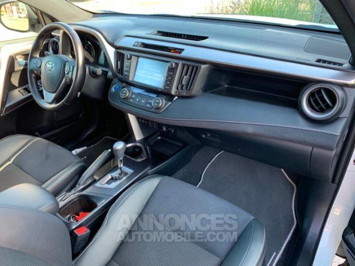 Toyota RAV4 197 Hybride Design 2WD CVT BLANC NACRE Occasion - 8