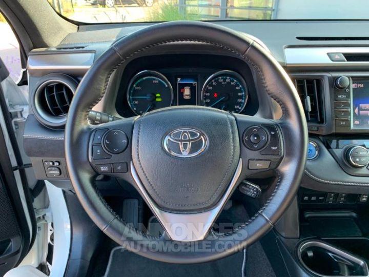Toyota RAV4 197 Hybride Design 2WD CVT BLANC NACRE Occasion - 10