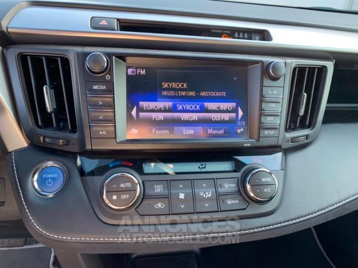 Toyota RAV4 197 Hybride Design 2WD CVT BLANC NACRE Occasion - 11