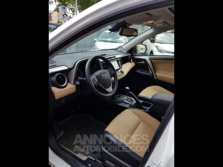 Toyota RAV4 197 Hybride Lounge 2WD CVT BLANC Occasion - 8