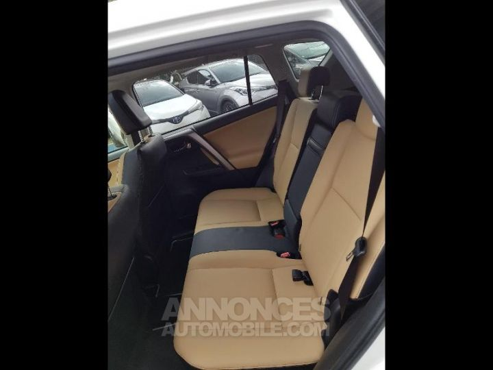 Toyota RAV4 197 Hybride Lounge 2WD CVT BLANC Occasion - 10
