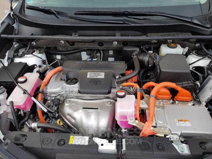 Toyota RAV4 197 Hybride Lounge 2WD CVT BLANC Occasion - 15