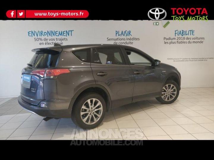 Toyota RAV4 197 Hybride Lounge 2WD CVT GRIS ATLAS Occasion - 3