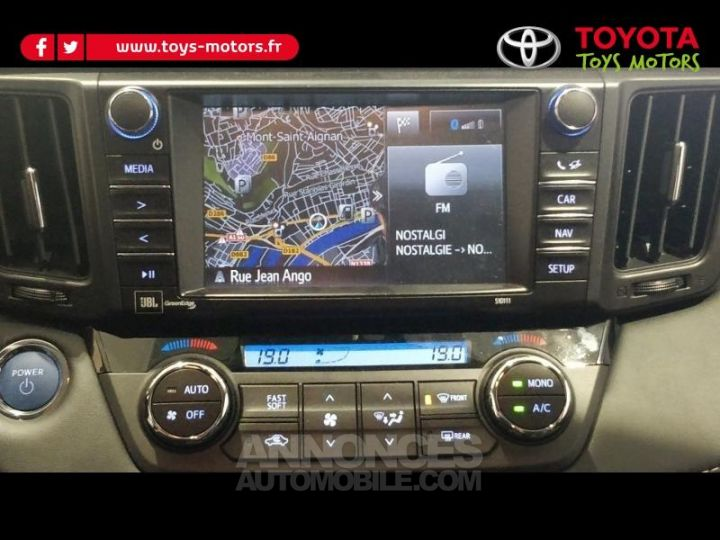 Toyota RAV4 197 Hybride Lounge 2WD CVT GRIS ATLAS Occasion - 8