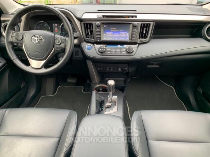 Toyota RAV4 197 Hybride Lounge 2WD CVT BLANC Occasion - 7