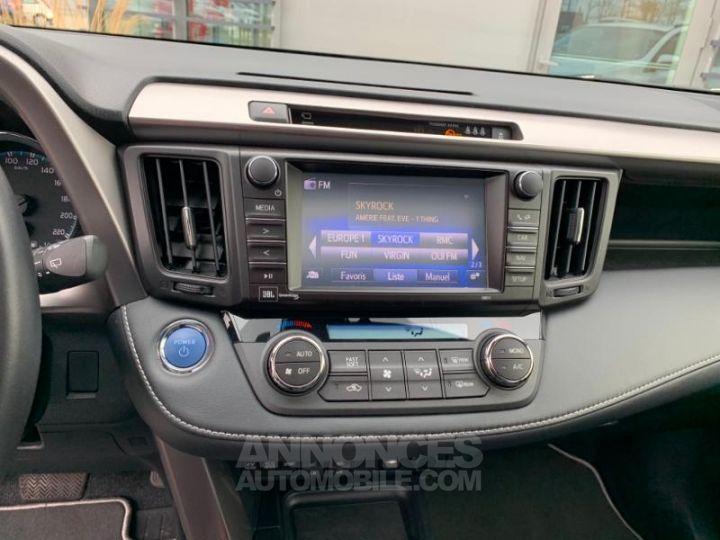 Toyota RAV4 197 Hybride Lounge 2WD CVT BLANC Occasion - 13