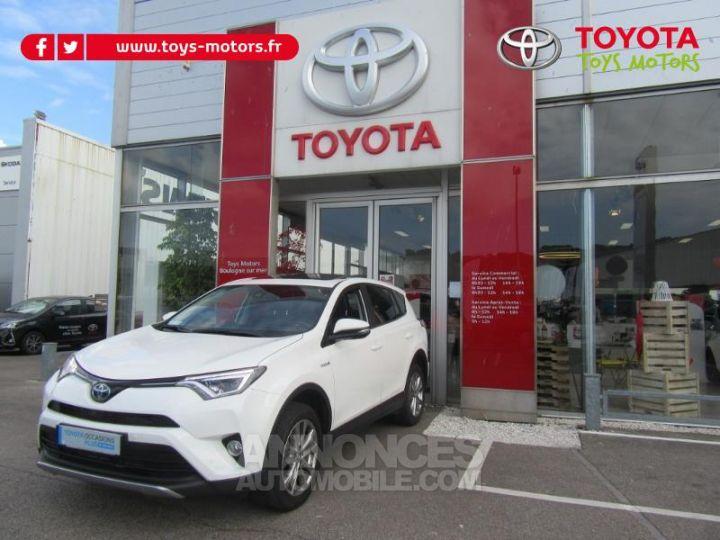 Toyota RAV4 197 Hybride Lounge AWD CVT BLANC Occasion - 1
