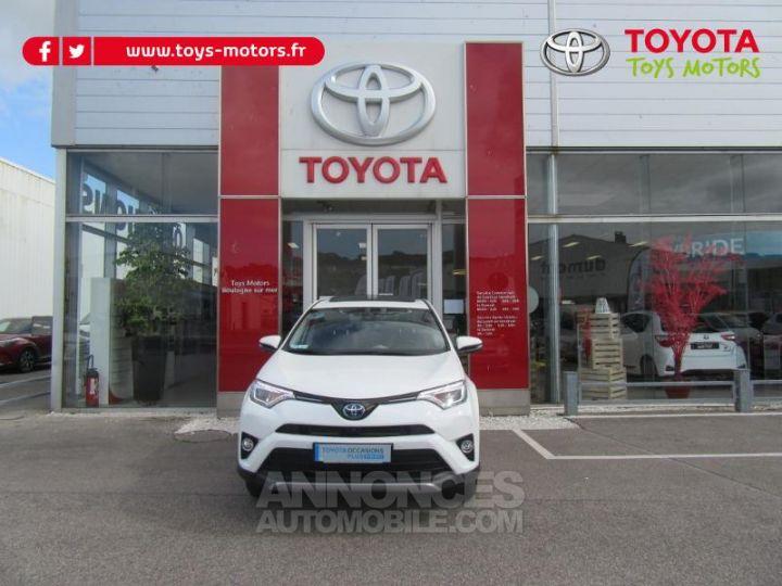 Toyota RAV4 197 Hybride Lounge AWD CVT BLANC Occasion - 2