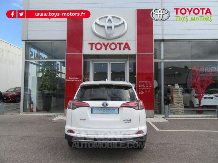 Toyota RAV4 197 Hybride Lounge AWD CVT BLANC Occasion - 6