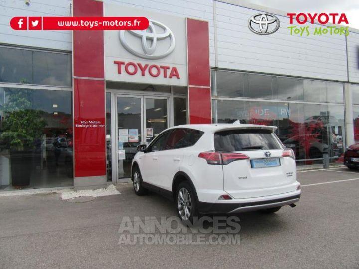 Toyota RAV4 197 Hybride Lounge AWD CVT BLANC Occasion - 7