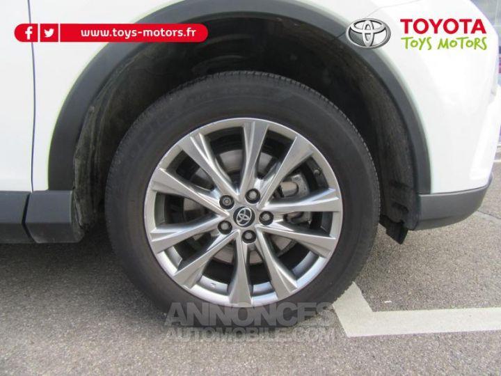 Toyota RAV4 197 Hybride Lounge AWD CVT BLANC Occasion - 9