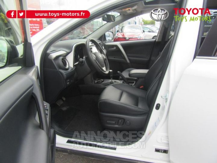 Toyota RAV4 197 Hybride Lounge AWD CVT BLANC Occasion - 10