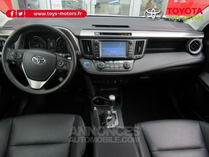 Toyota RAV4 197 Hybride Lounge AWD CVT BLANC Occasion - 11