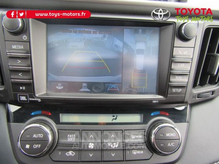 Toyota RAV4 197 Hybride Lounge AWD CVT BLANC Occasion - 14
