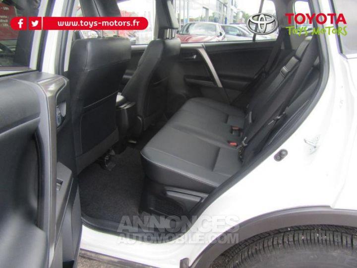 Toyota RAV4 197 Hybride Lounge AWD CVT BLANC Occasion - 17