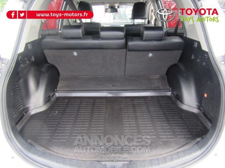 Toyota RAV4 197 Hybride Lounge AWD CVT BLANC Occasion - 19