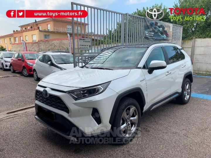 Toyota RAV4 HYBRID BREAK 5P 218CH 2WD LOUNGE TO PACK . 070 BLANC NACRE Occasion - 1