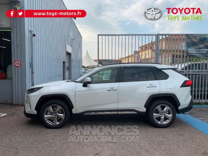 Toyota RAV4 HYBRID BREAK 5P 218CH 2WD LOUNGE TO PACK . 070 BLANC NACRE Occasion - 2