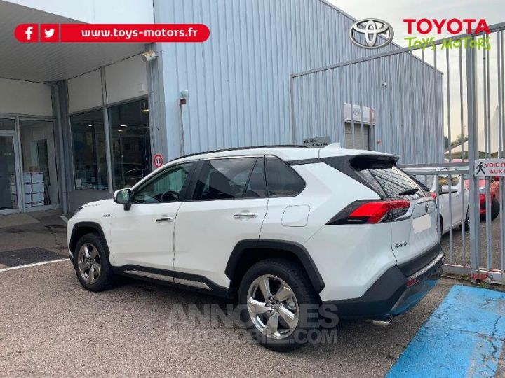 Toyota RAV4 HYBRID BREAK 5P 218CH 2WD LOUNGE TO PACK . 070 BLANC NACRE Occasion - 3