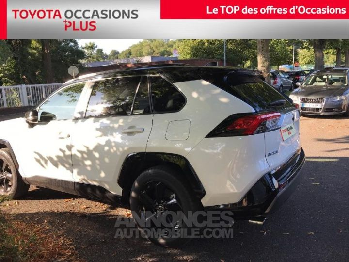 Toyota RAV4 Hybride 218ch Collection 2WD BLANC Occasion - 2