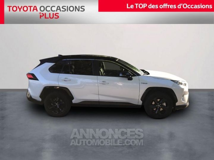 Toyota RAV4 Hybride 218ch Collection 2WD BLANC Occasion - 3