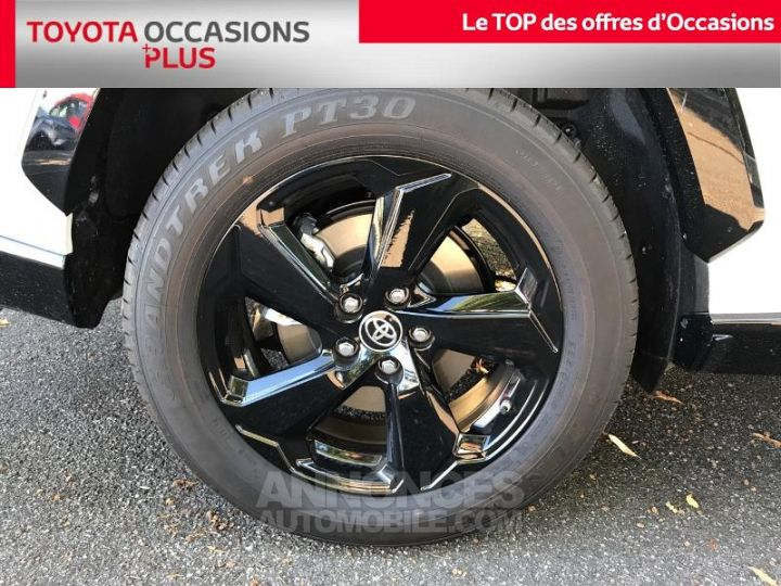 Toyota RAV4 Hybride 218ch Collection 2WD BLANC Occasion - 4