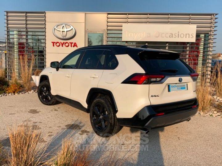 Toyota RAV4 Hybride 218ch Premi BI TON BLANC NACRE NOIR ATTITU Occasion - 4