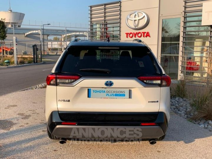 Toyota RAV4 Hybride 218ch Premi BI TON BLANC NACRE NOIR ATTITU Occasion - 5