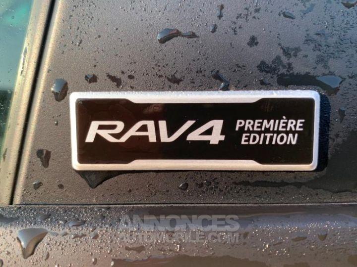 Toyota RAV4 Hybride 218ch Premi BI TON BLANC NACRE NOIR ATTITU Occasion - 7