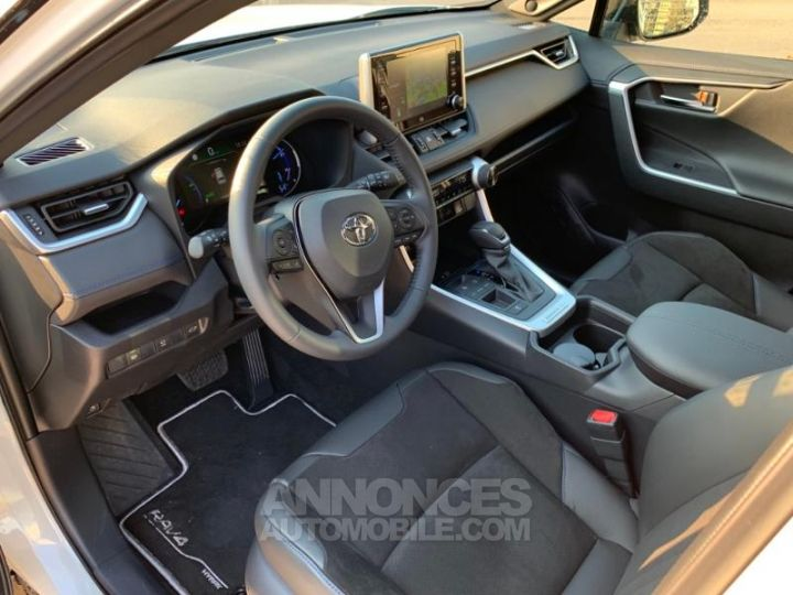 Toyota RAV4 Hybride 218ch Premi BI TON BLANC NACRE NOIR ATTITU Occasion - 8