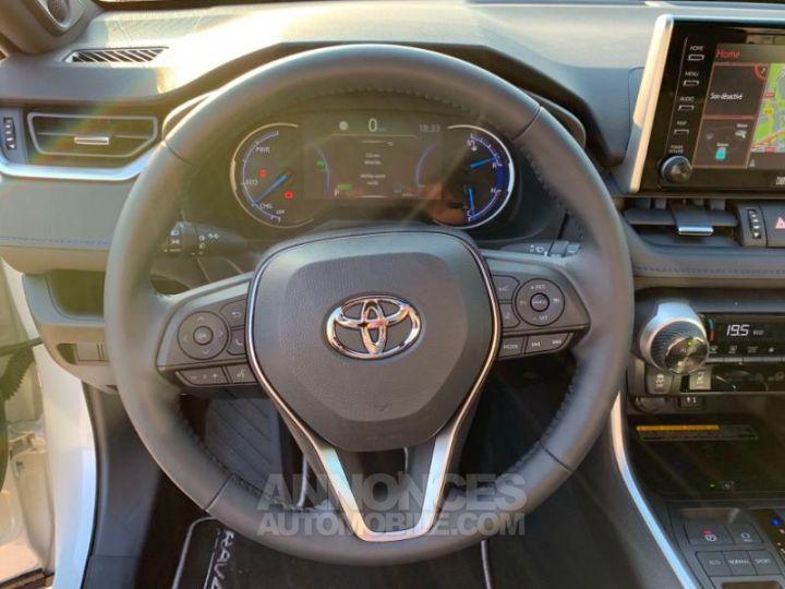 Toyota RAV4 Hybride 218ch Premi BI TON BLANC NACRE NOIR ATTITU Occasion - 12