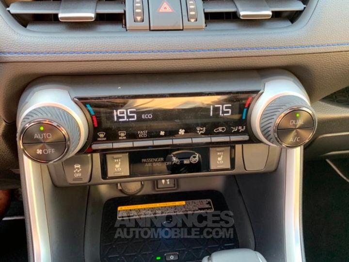 Toyota RAV4 Hybride 218ch Premi BI TON BLANC NACRE NOIR ATTITU Occasion - 13