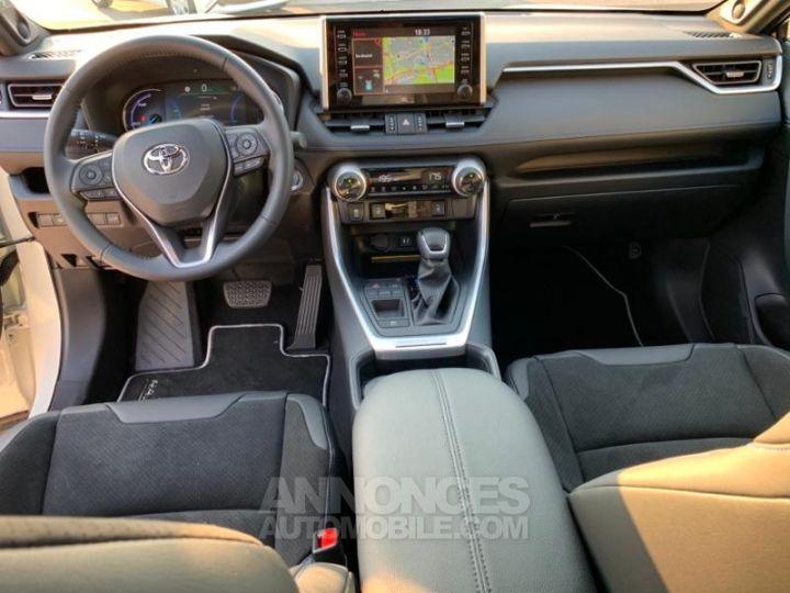 Toyota RAV4 Hybride 218ch Premi BI TON BLANC NACRE NOIR ATTITU Occasion - 14