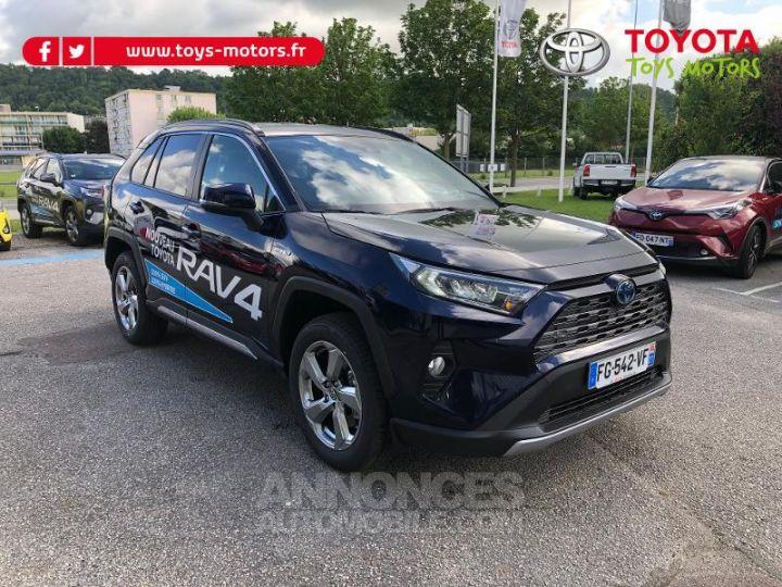 Toyota RAV4 Hybride 222ch Dynamic AWD-i BLEU DE PRUSSE Occasion - 1