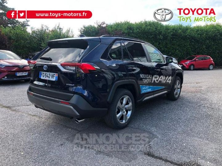 Toyota RAV4 Hybride 222ch Dynamic AWD-i BLEU DE PRUSSE Occasion - 4
