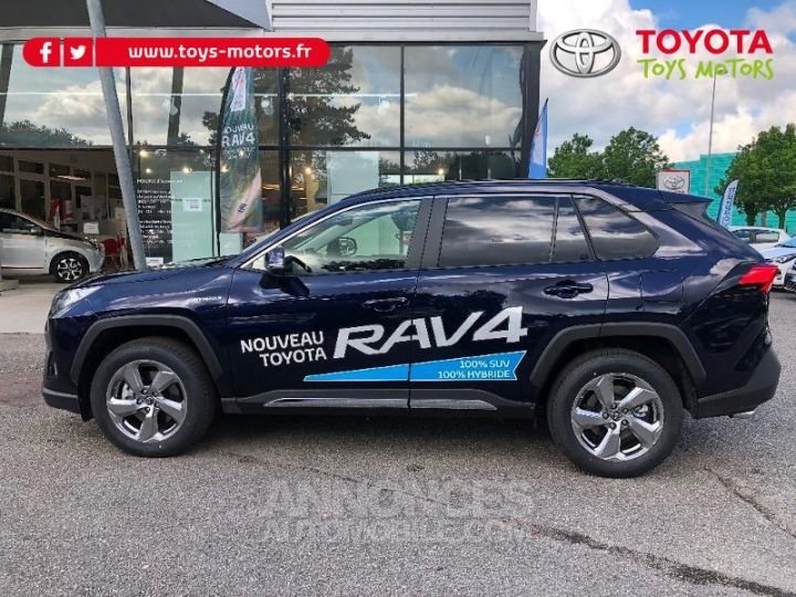 Toyota RAV4 Hybride 222ch Dynamic AWD-i BLEU DE PRUSSE Occasion - 8