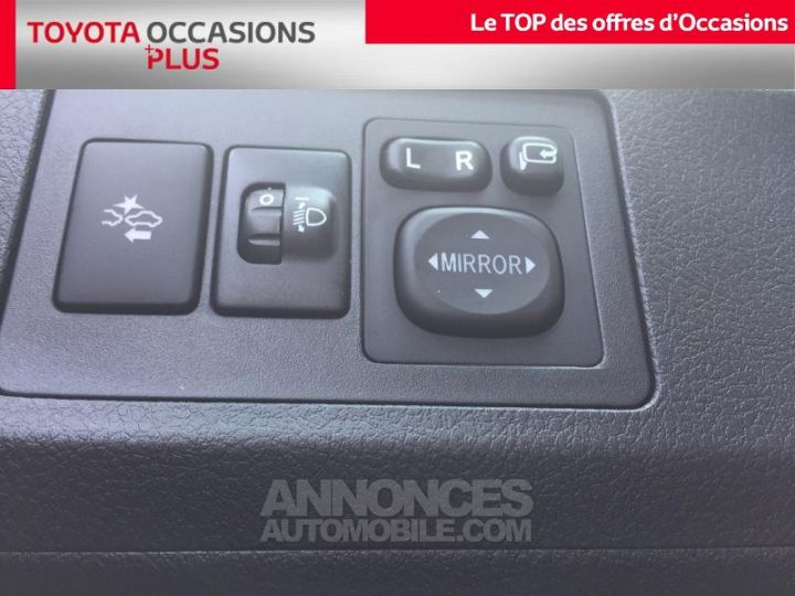 Toyota VERSO 112 D-4D FAP Dynamic Gris Clair Métallisé Occasion - 18
