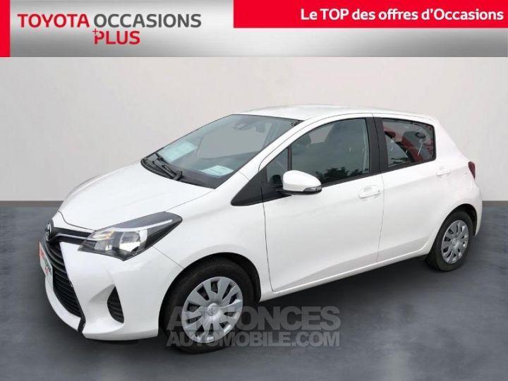 Toyota YARIS 100 VVT-i France 5p BLANC PUR Occasion - 1