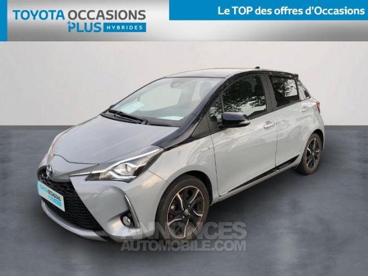 Toyota YARIS 100h Collection 5p BI TON GRIS MANHATTAN   NOIR Occasion - 1