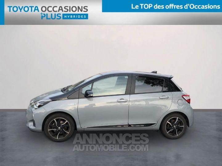 Toyota YARIS 100h Collection 5p BI TON GRIS MANHATTAN   NOIR Occasion - 3