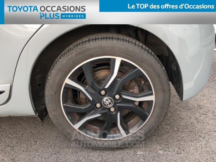 Toyota YARIS 100h Collection 5p BI TON GRIS MANHATTAN   NOIR Occasion - 4