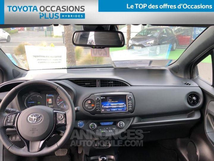 Toyota YARIS 100h Collection 5p BI TON GRIS MANHATTAN   NOIR Occasion - 5
