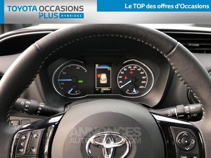 Toyota YARIS 100h Collection 5p BI TON GRIS MANHATTAN   NOIR Occasion - 8