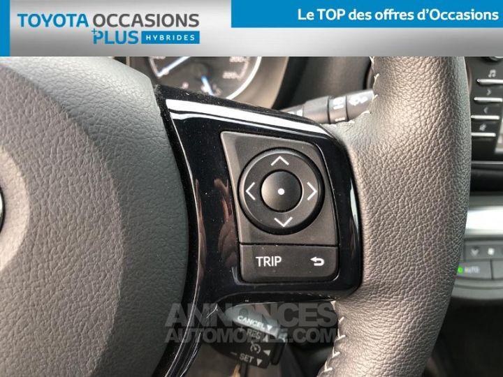 Toyota YARIS 100h Collection 5p BI TON GRIS MANHATTAN   NOIR Occasion - 10