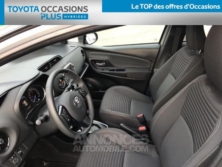 Toyota YARIS 100h Collection 5p BI TON GRIS MANHATTAN   NOIR Occasion - 13