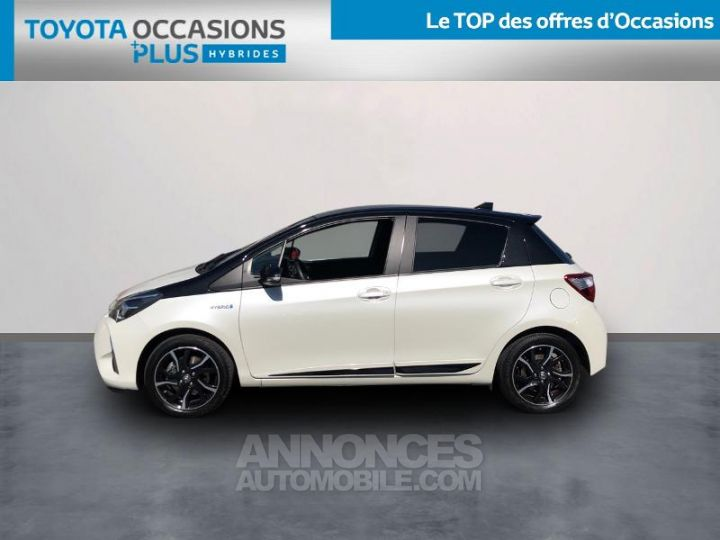 Toyota YARIS 100h Collection 5p BLANC Occasion - 3